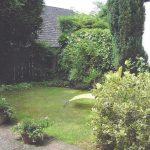 Reihenhaus mit kleinem Garten